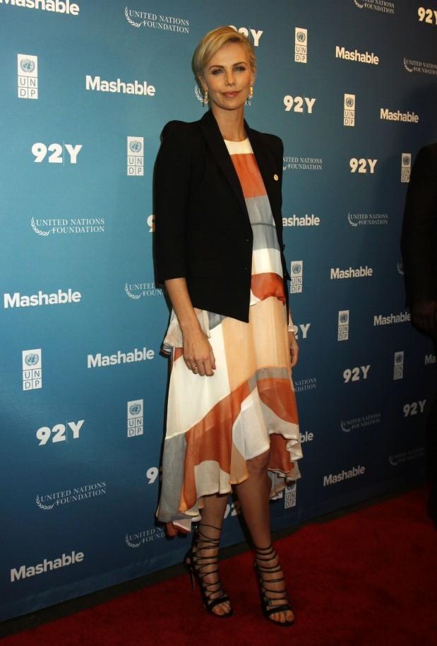 Charlize Theron wears Zimmermann