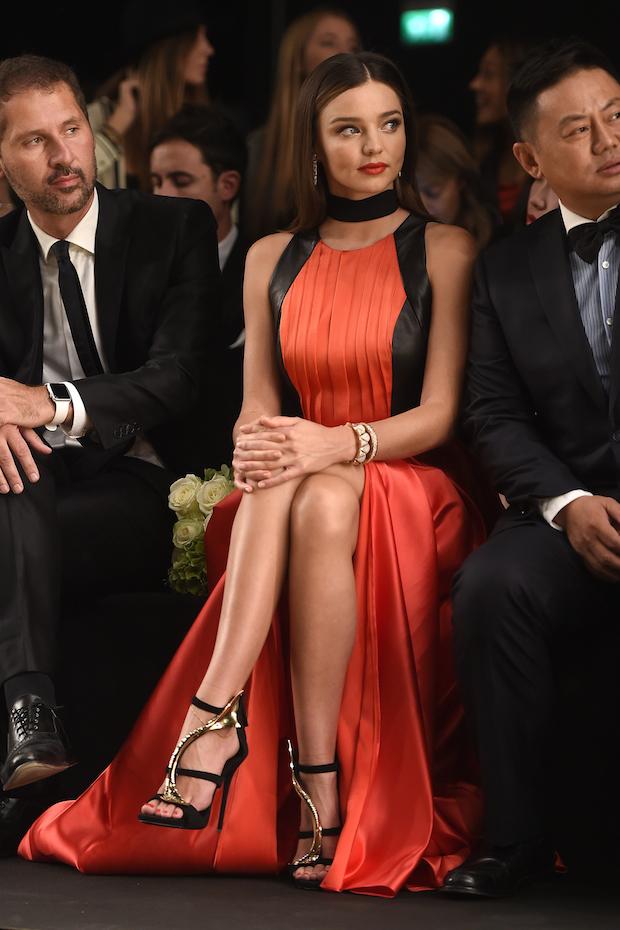 Miranda Kerr at Milan Fashion Week