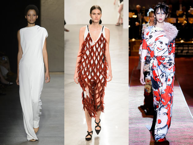 3 models walk runways for Narciso Rodriguez, Proenza Schouler and Marc Jacobs