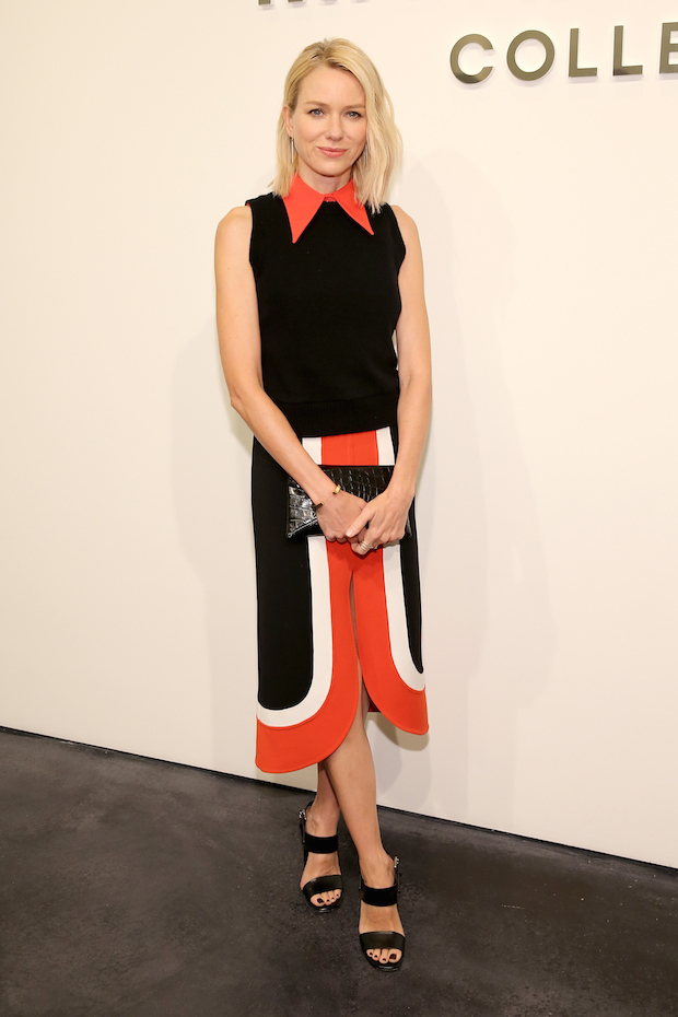 Naomi Watts attends the Michael Kors Spring 2016 Runway Show during New York Fashion Week