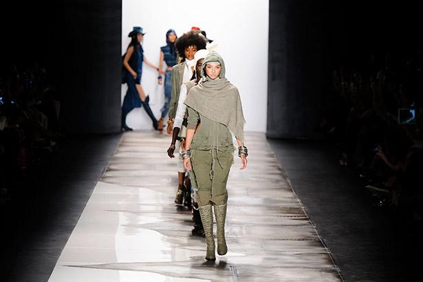 Greg Lauren Spring 2016 runway