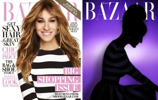 US Harper's Bazaar October 2015 Sarah Jessica Parker by Alexi Lubomirski