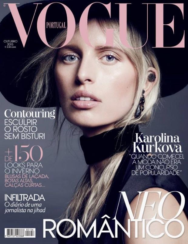 Vogue Portugal October 2015 Karolina Kurkova by Marcin Tyszka