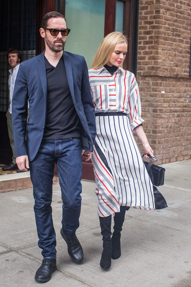 Kate Bosworth heading to Fashion Week in New York