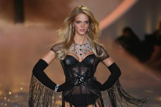Erin Heatherton walks Victoria's Secret Fashion Show
