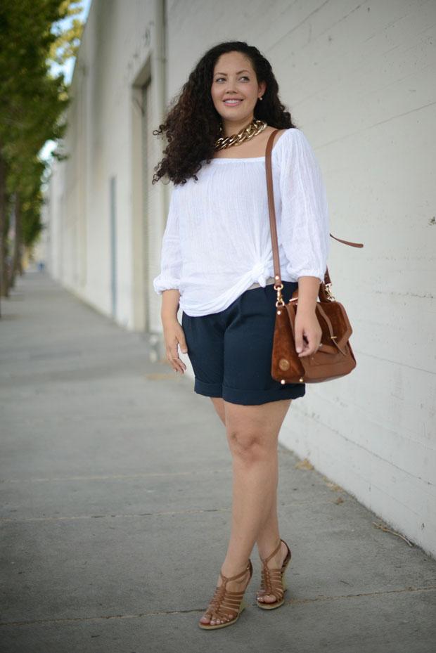 Tanesha Awasthi white top and shorts