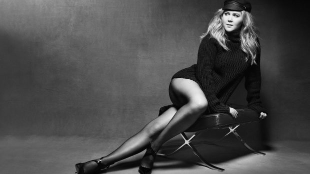 US Marie Claire August 2016 : Amy Schumer by Mark Seliger