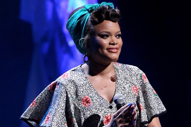 NASHVILLE, TN - AUGUST 18: Andra Day performs at the NMAAM 2016 Black Music Honors on August 18, 2016 in Nashville, Tennessee. (Photo by Terry Wyatt/Getty Images for National Museum of African American Music )
