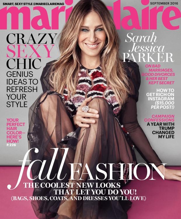 US Marie Claire September 2016 : Sarah Jessica Parker by Michelango di Battista
