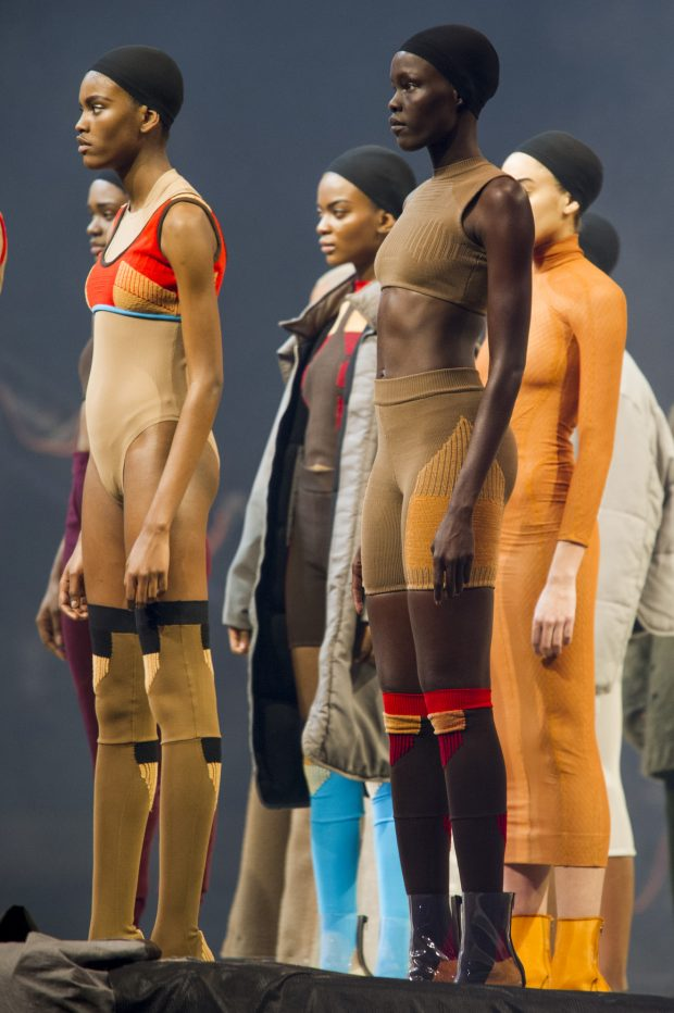 """Kanye West's Yeezy Season 3 collection was all about re-examining the concept of """"nude."""""""