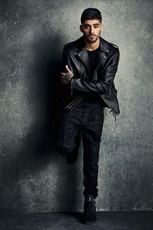 Zayn Malik teamed up with Giuseppe Zanotti on a new line of men's shoes.