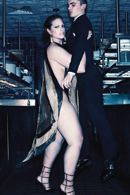 Ashley Graham shot by Steven Klein for V Magazine.