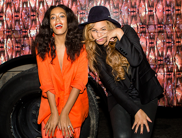 Beyoncé interviewed Solange for the February issue of 'Interview.'