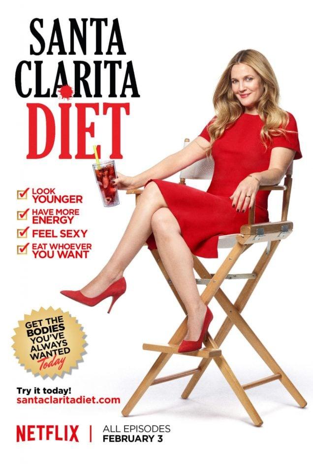 Drew Barrymore's new Netflix series, Santa Clarita diet, looks hilarious and terrifying.