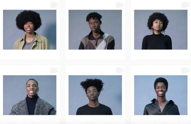 The (tentative) model lineup; Image: @gucci