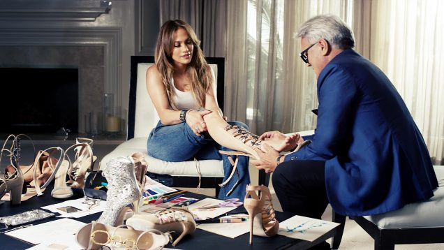Jennifer Lopez and Giuseppe Zanotti's capsule collection is now available to shop.