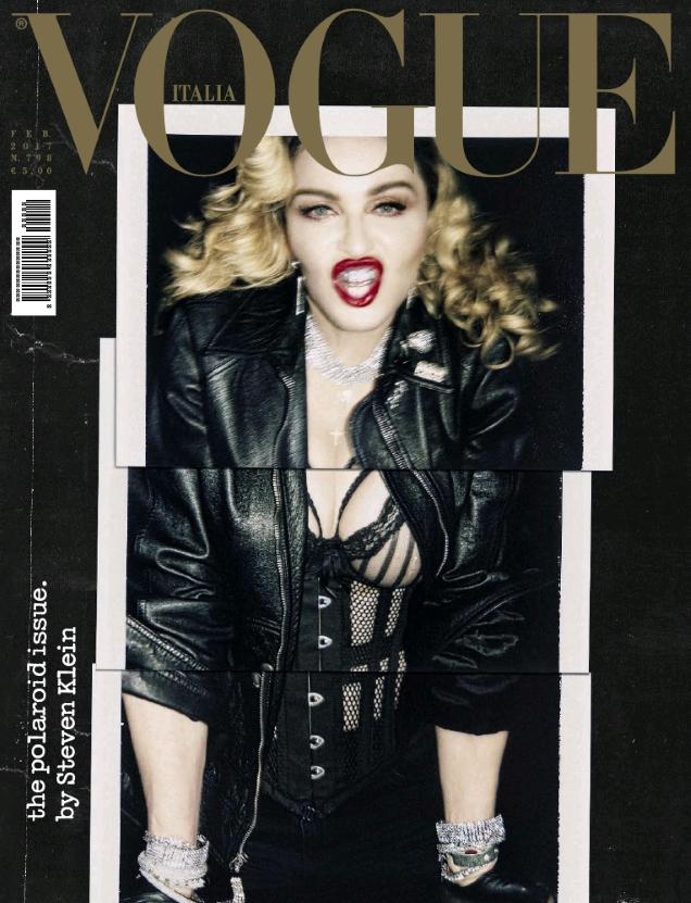 Vogue Italia February 2017 : Madonna by Steven Klein