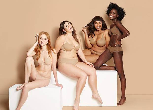 Target announces its Shades of Nude collection.