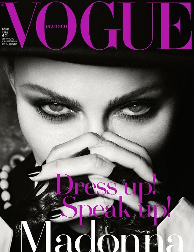 Vogue Germany April 2017 : Madonna by Luigi & Iango