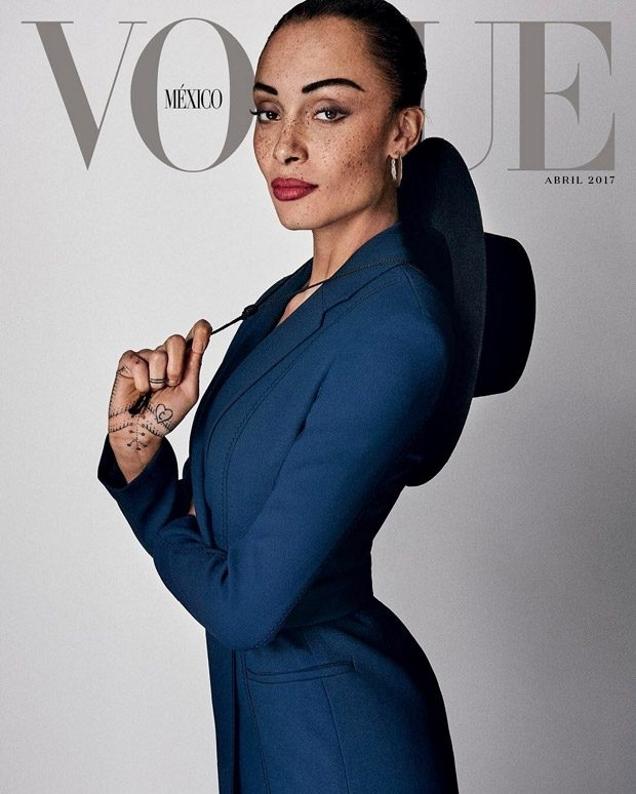 Vogue Mexico & Latin America April 2017 : Adwoa Aboah by Giampaolo Sgura