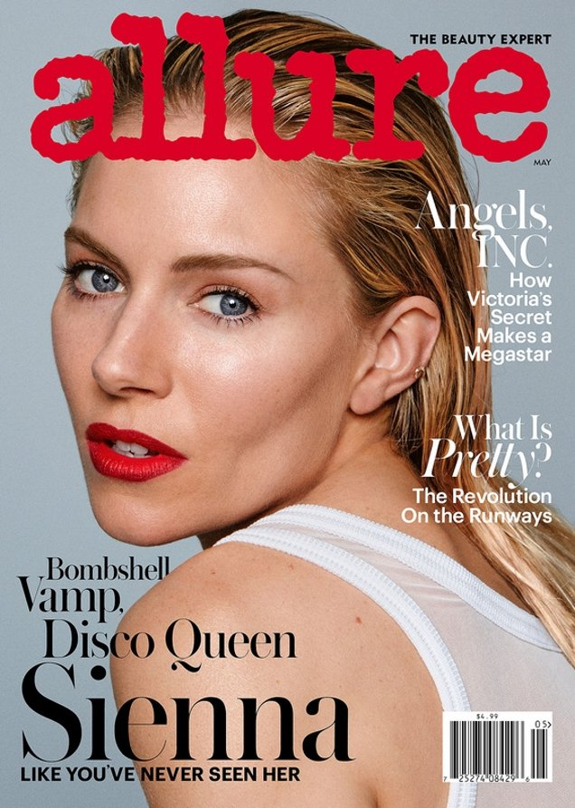 Allure May 2017 : Sienna Miller by Daniel Jackson