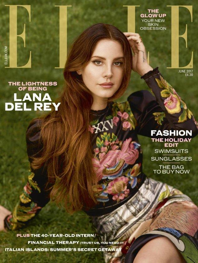 UK Elle June 2017 : Lana Del Rey by Thomas Whiteside