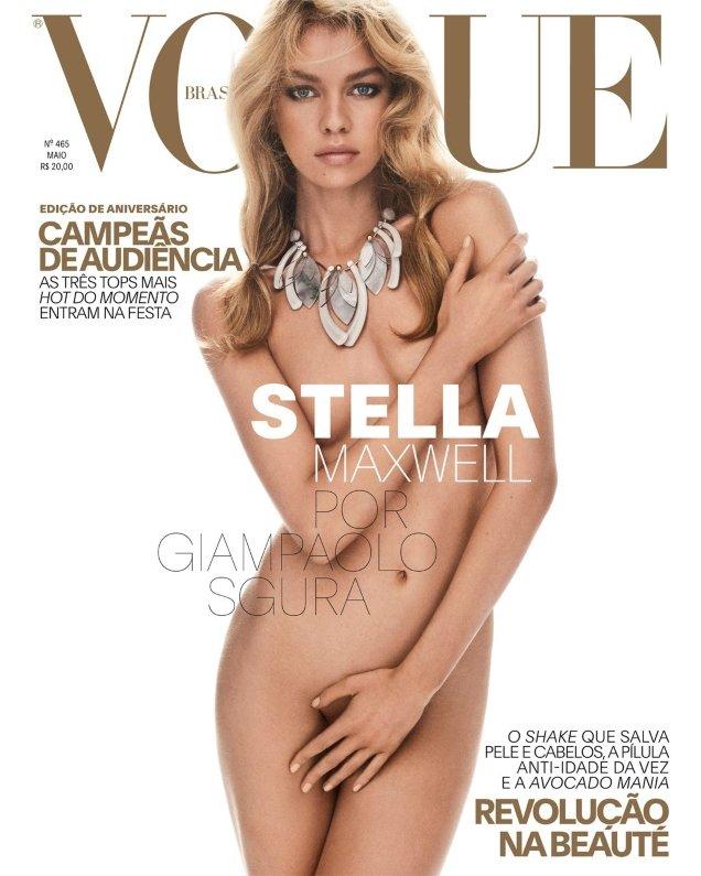 Vogue Brazil May 2017 : Sara, Josephine & Stella by Giampaolo Sgura