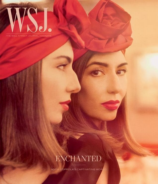 WSJ Magazine June/July 2017 : Sofia Coppola by Steven Meisel