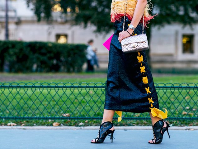 outfit from Paris Street Style Spring 2017