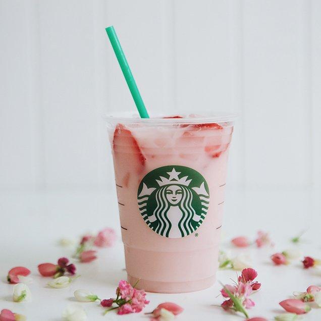 Starbucks' Pink Drink; Image: Starbucks