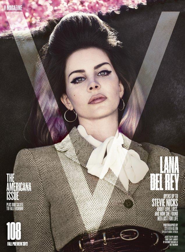 V Magazine #108 Fall Preview 2017 : Lana Del Rey by Steven Klein
