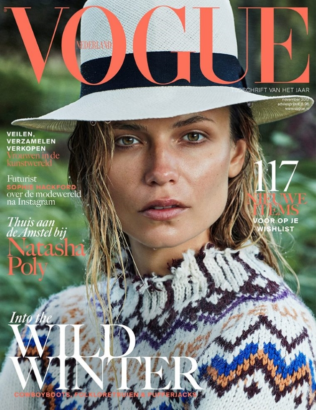Vogue Netherlands November 2017 : Natasha Poly by Alique