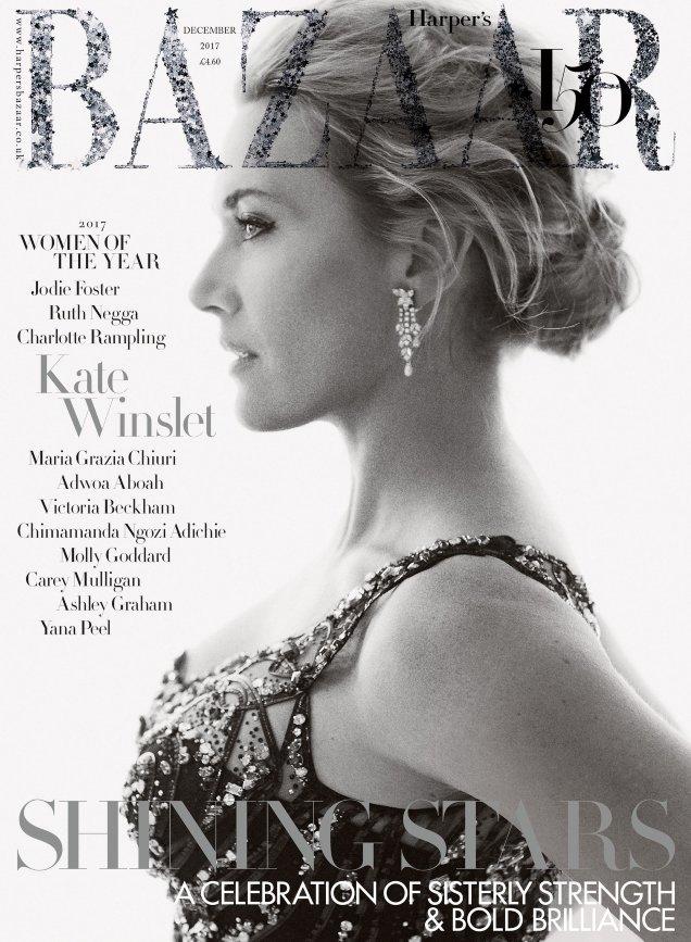 UK Harper's Bazaar December 2017 : The Women Of The Year Issue