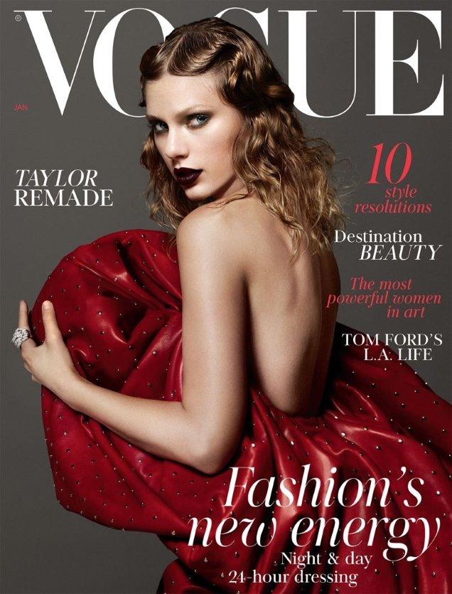 UK Vogue January 2018 : Taylor Swift by Mert Alas & Marcus Piggott