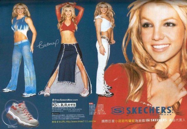 Britney Spears for Skechers