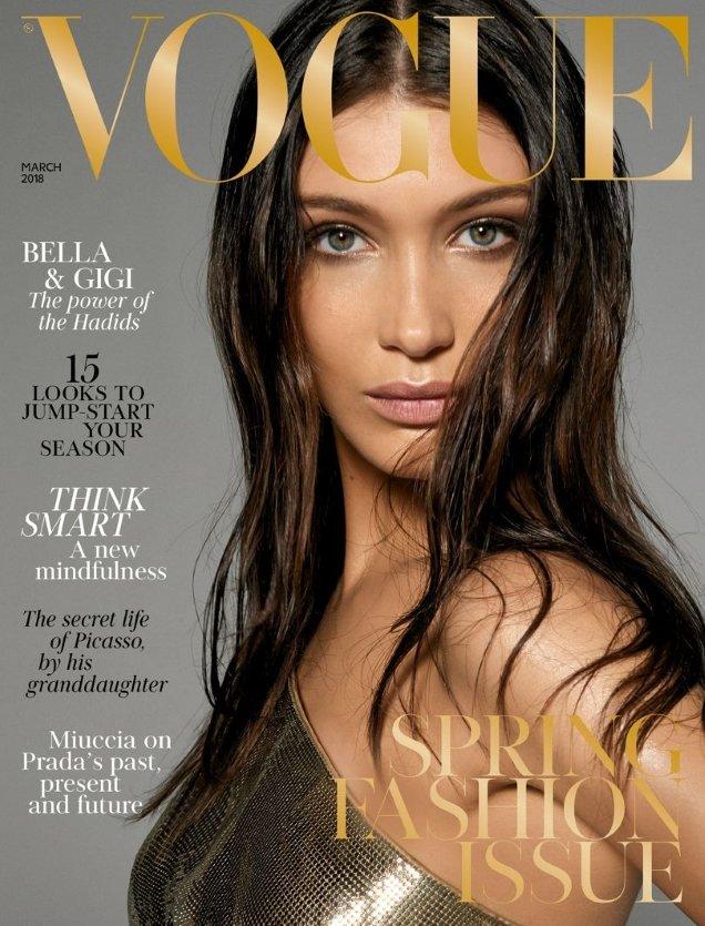 UK Vogue March 2018 : Gigi Hadid & Bella Hadid by Steven Meisel