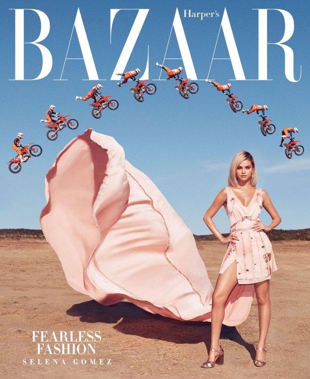 US Harper's Bazaar March 2018 : Selena Gomez by Alexi Lubomirski