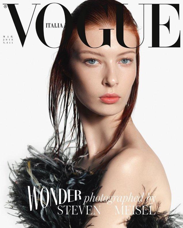 Vogue Italia March 2018 : Remington Williams by Steven Meisel