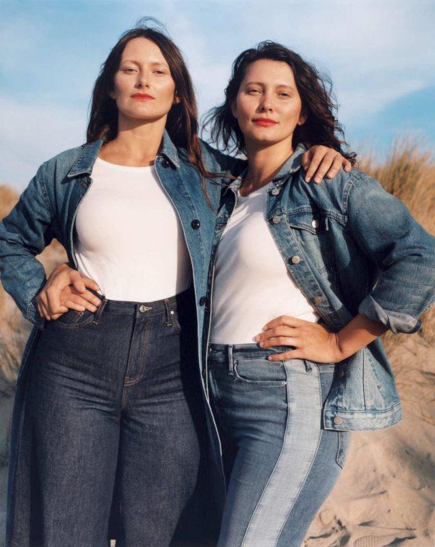 Cassandra Bickman and Jennifer Bickman for Nordstrom Spring 2018.