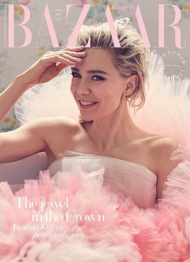 UK Harper's Bazaar June 2018 : Vanessa Kirby by Alexi Lubomirski