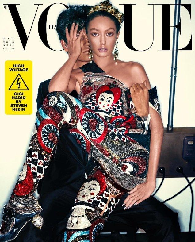 Vogue Italia May 2018 : Gigi Hadid by Steven Klein
