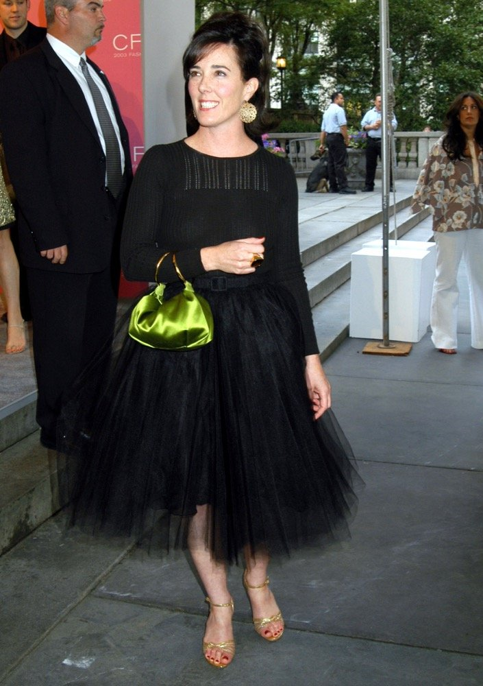 Kate Spade at the 2003 CFDA Fashion Awards.