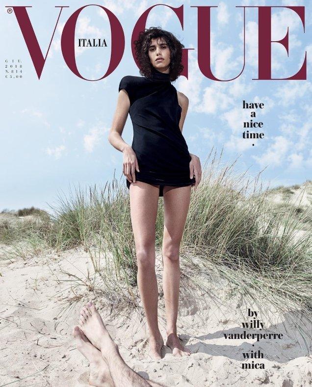 Vogue Italia June 2018 : Mica, Rianne & Doutzen by Willy Vanderperre
