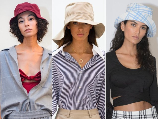 More proof the hats were the unofficial toppers of the spring season.
