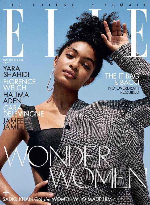 UK Elle November 2018 : The 'Wonder Women' Issue