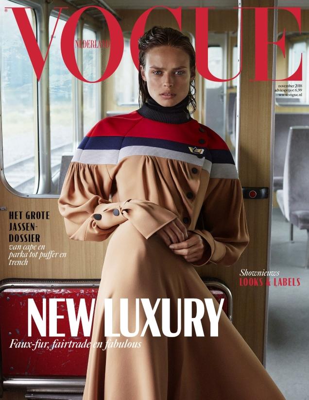Vogue Netherlands November 2018 : Birgit Kos by Alique