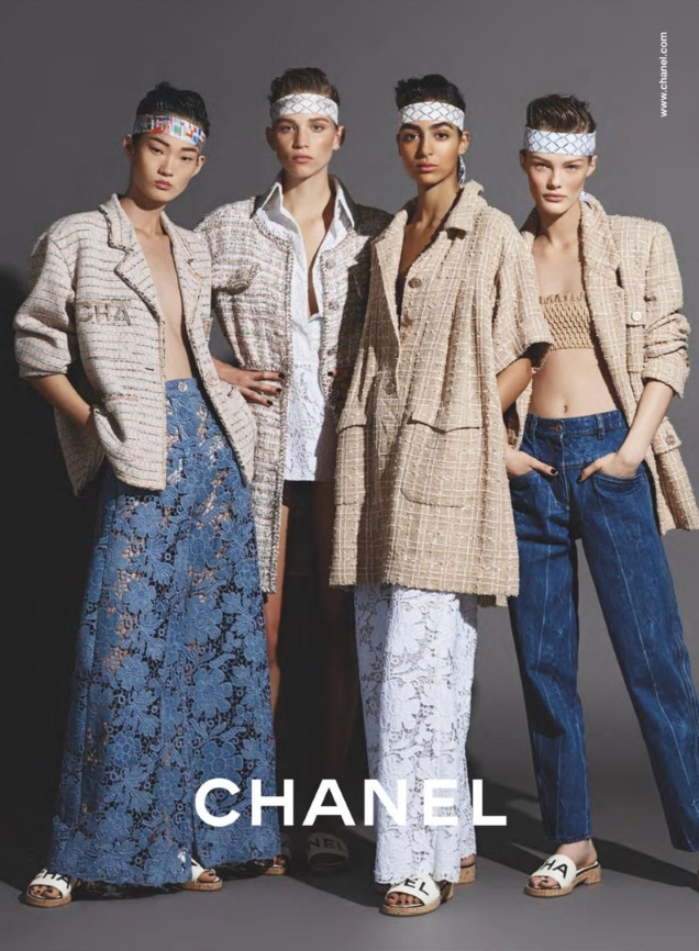 Chanel S/S 2019 by Karl Lagerfeld