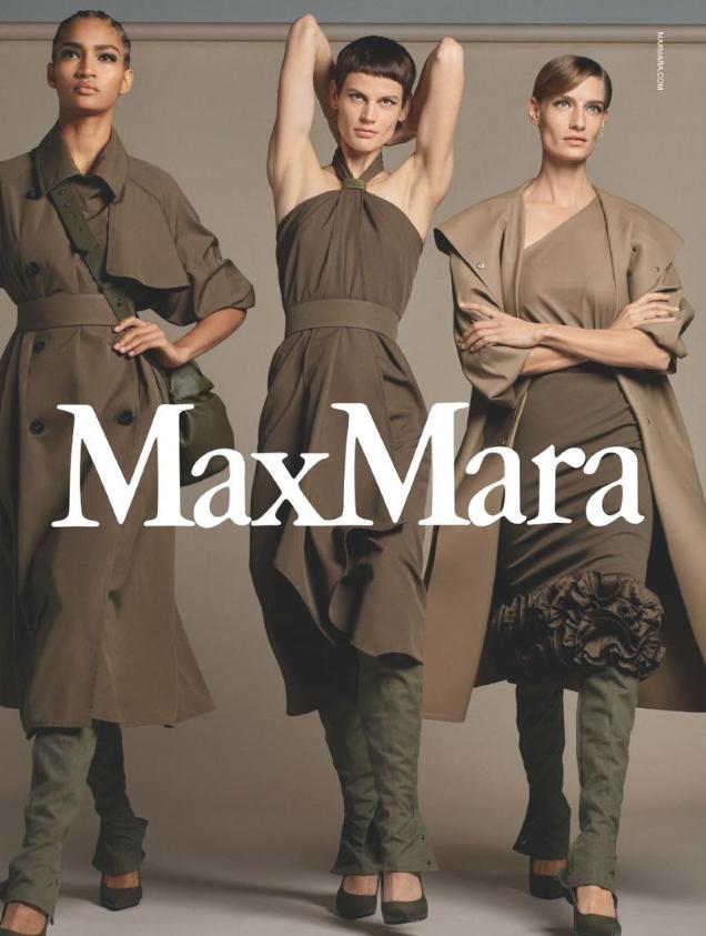 Max Mara S/S 2019 by Steven Meisel