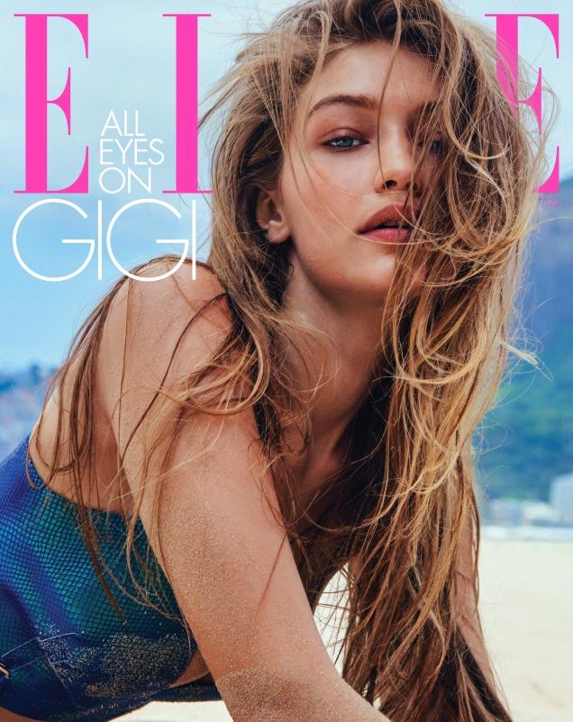 US Elle March 2019 : Gigi Hadid by Chris Colls