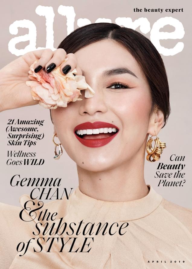 Allure April 2019 : Gemma Chan by Paola Kudacki